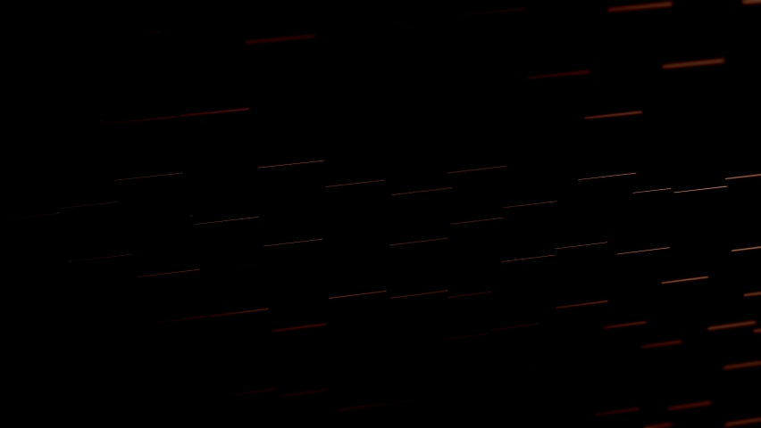Concept of matrix. Binary code environment in form of cubes wall with information inside, moving up and down. | Shutterstock HD Video #1066347901