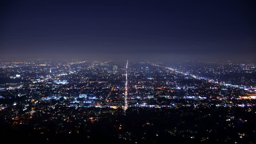 Los Angeles City Grids Timelapse | Shutterstock HD Video #10664657