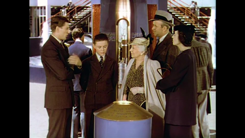 CIRCA 1930s - A family learns about a time capsule that was put together for the 1939 New York World's Fair.