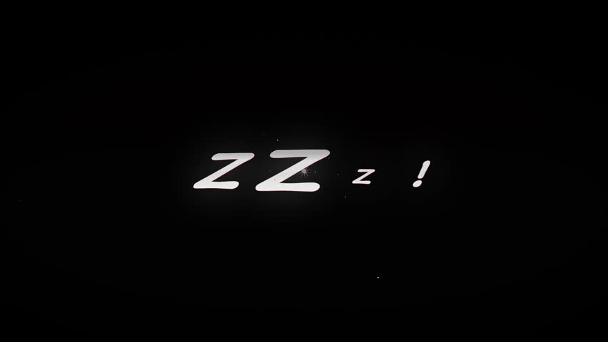ZZZ!4K Animated comic style action word with tiny particles and cartoony explosion. Black and Red look. | Shutterstock HD Video #10672868