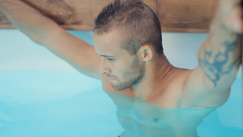 Beautiful Sexy Naked Guy with Stock Footage Video (100%
