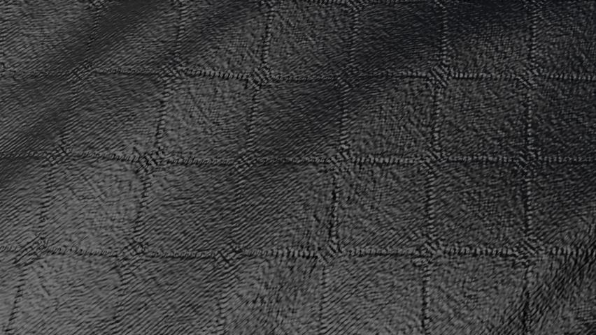 The black material is deformed by waves. abstract dark splash. 3d render   Shutterstock HD Video #1067915201