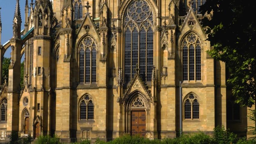 The Protestant Church of St John in Stuttgart, germany | Shutterstock HD Video #1068114008