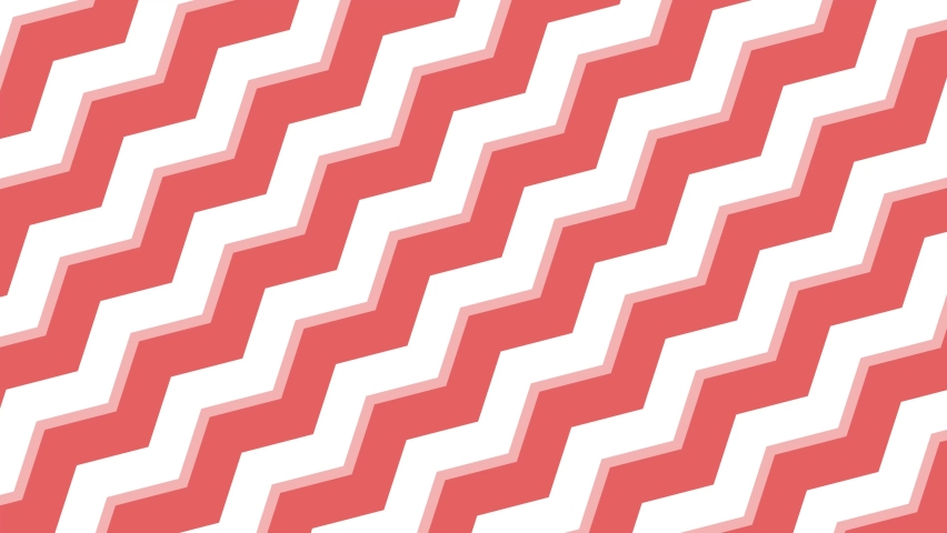 Red zigzag pattern for themes, presentations or fun activities. | Shutterstock HD Video #1068120410