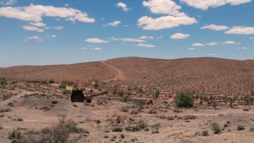 Desert outback near Silverton New South Wales