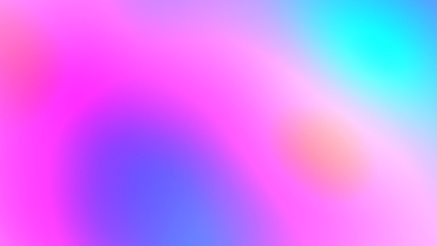 Neon pink blue purple abstract background. Soft rainbow color holographic iridescent blurred gradient. Hologram glitch. Light through a crystal and smoke | Shutterstock HD Video #1068479840