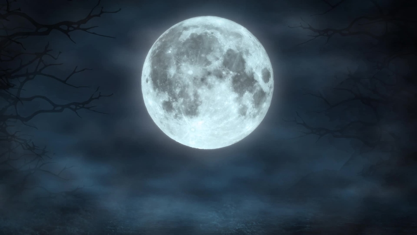 Flying Many Bats Animation for Halloween on Moon Night Background Party Template   Shutterstock HD Video #1068484067