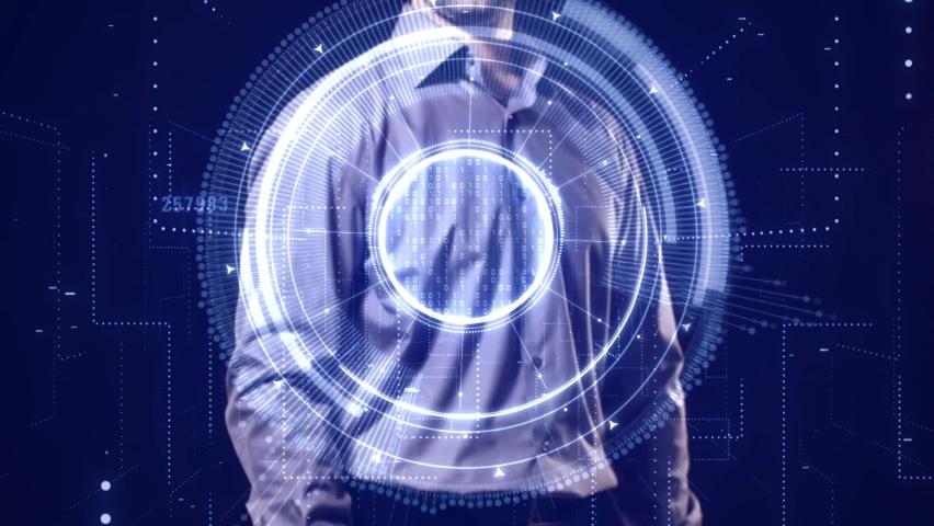 Business, Technology, Internet and network concept. NOW HIRING inscription, modern technology business concept.  | Shutterstock HD Video #1068504557
