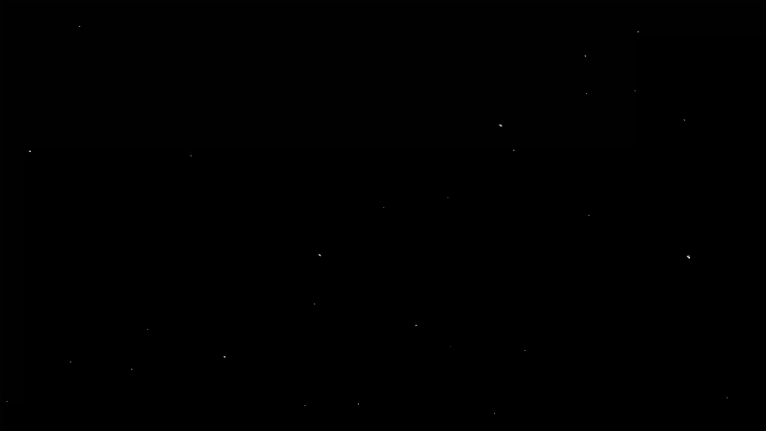 White dust particles glimmering on black background. Beautiful easy to use as an overlay on your footage.   Shutterstock HD Video #1068619205