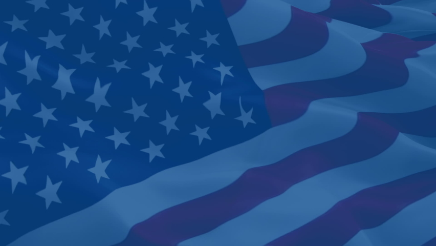 4th of july, Patriot Day US American Flag Waving background. US American Flag Loop Closeup. Video of USA sign waving. United States Boston Marathon flag. US American country. USA American Flag waving  Royalty-Free Stock Footage #1068656147