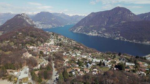 Lugano Views from Park San Grato