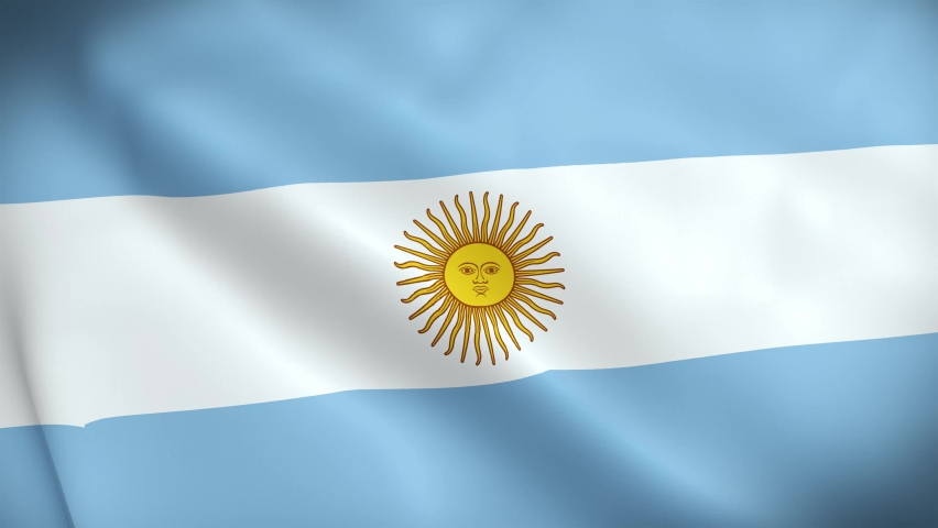 4K National Animated Sign of Argentina, Animated Argentina flag, Argentina Flag waving, The national flag of Argentina animated. 4K (3840 x 2160)  | Shutterstock HD Video #1070144539