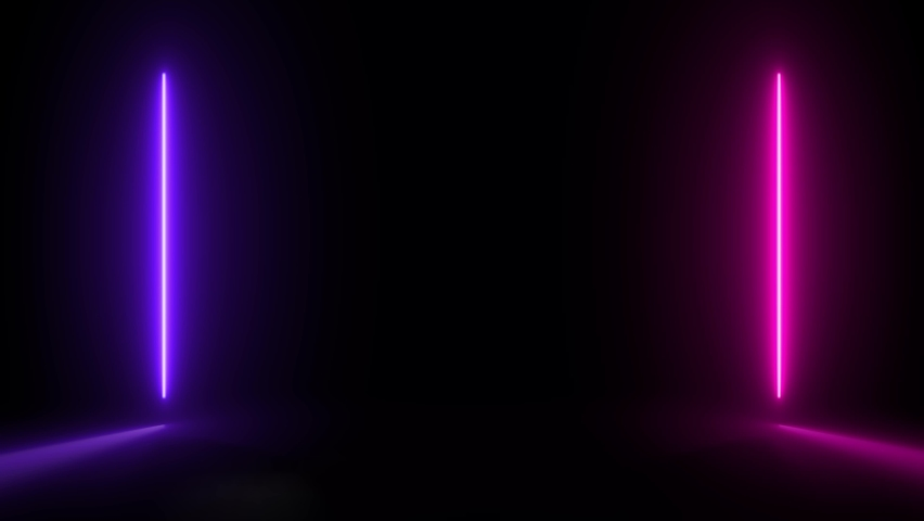 abstract neon glow color 4K moving seamless art loop background abstract motion screen background animated box shapes 4K loop lines colorful design 4K laser show looped animation ultraviolet spectrum  Royalty-Free Stock Footage #1070296651
