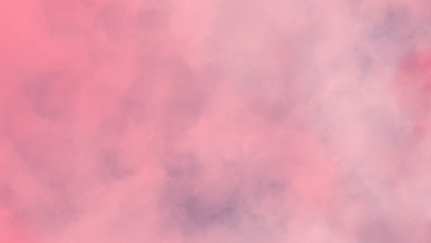 Pale pink thick smoke moves from left to right.  | Shutterstock HD Video #1070536726