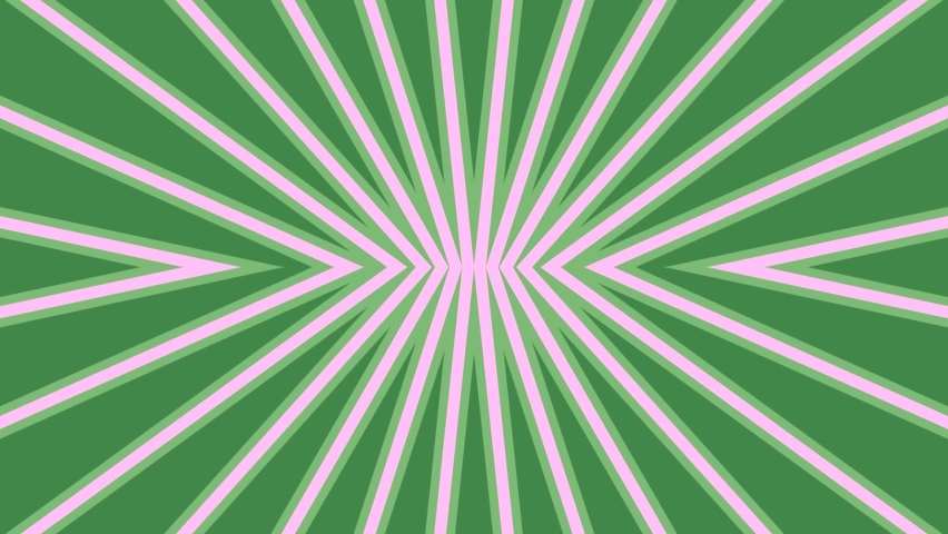 Green And White Rays Moving In A Reflective Illusion   Shutterstock HD Video #1070787325