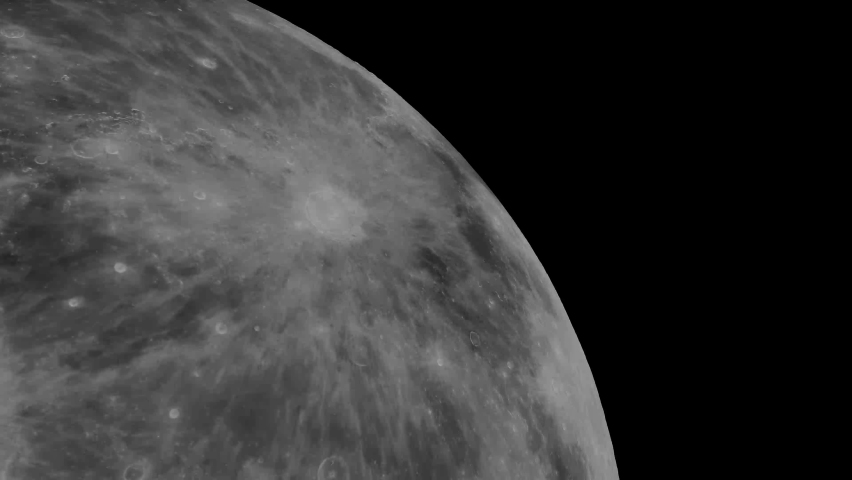 A low orbit around the moon at high speed, with the Earth passing in and out of the background. An animated, high speed timelapse render of what the moon looks like from an orbital perspective | Shutterstock HD Video #1070791732