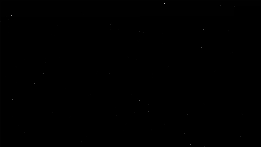 White dust particles glimmering on black background. Beautiful easy to use as an overlay on your footage. | Shutterstock HD Video #1070792398