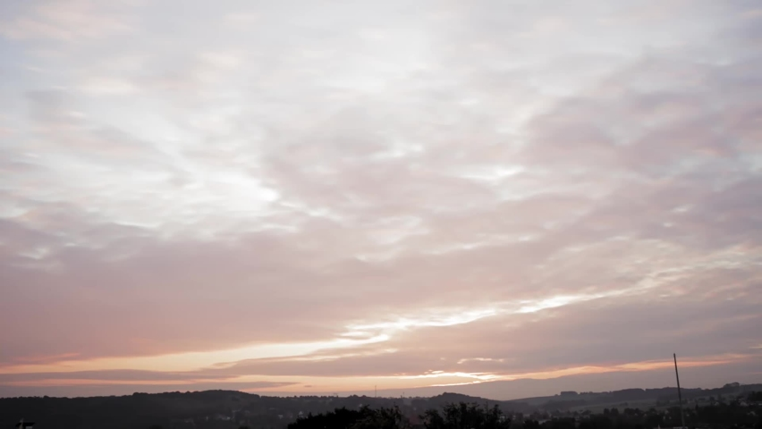 Time lapse clouds on sky | Shutterstock HD Video #1070980912
