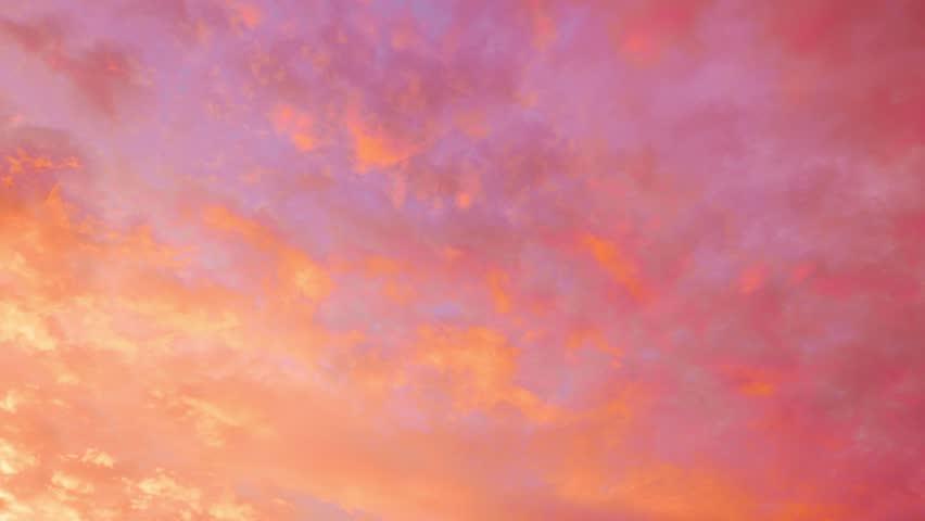 4K Timelaplse footage - Amazing of Sunset wonderful color sky. | Shutterstock HD Video #10711367