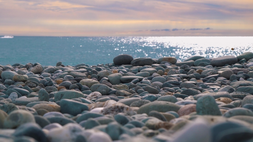 Life at the sea in 4k. | Shutterstock HD Video #1071142570