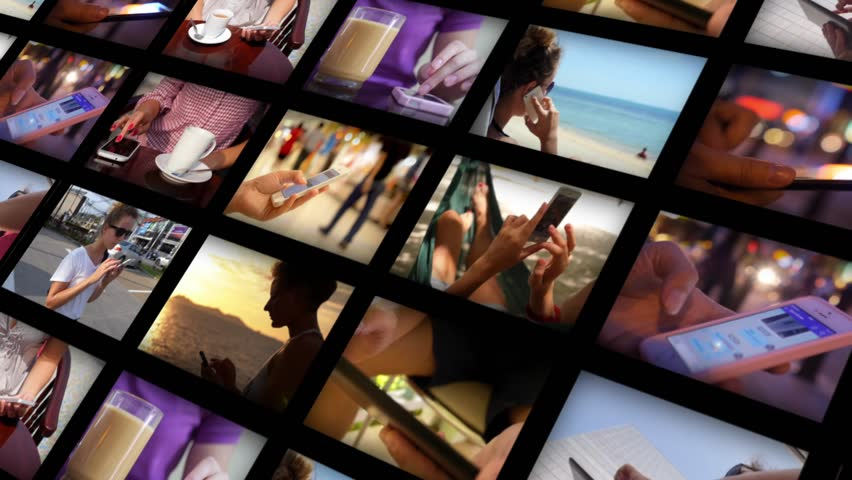 Montage. Using Smartphone Concept | Shutterstock HD Video #10719386