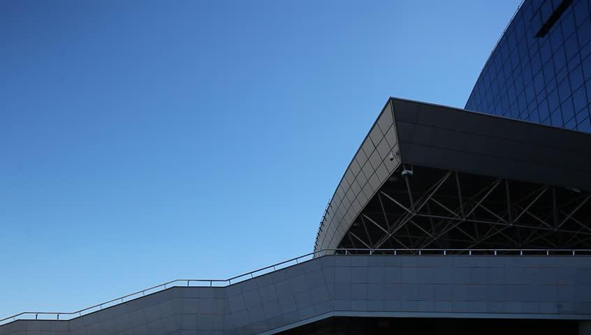 Minsk Arena . Ice Hockey Stadium. building Minsk Arena - a modern sports and cultural complex. Belarus, Minsk, Jule,4 2015   Shutterstock HD Video #10724549