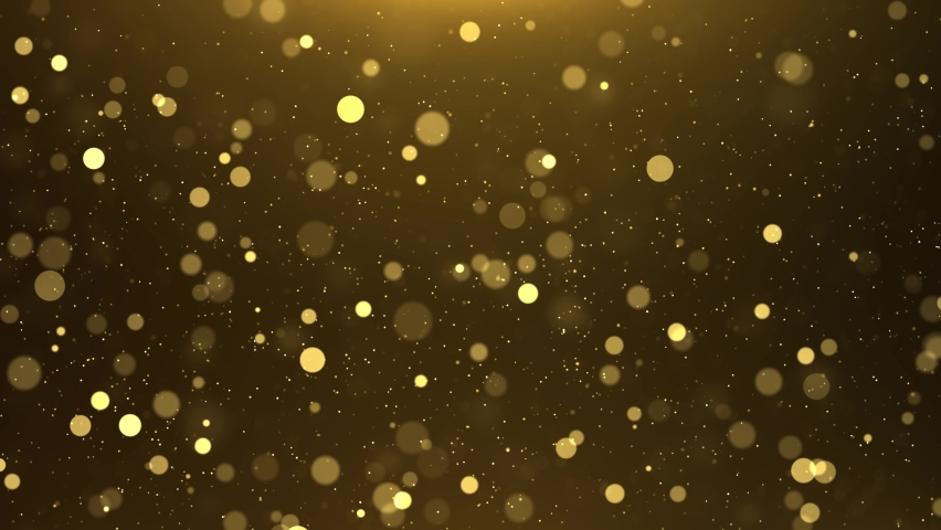 Golden Summer concept the motion of bokeh sunlight natural shadow overlay loop background, logo titles in award, music, wedding, anniversary, party and presentation backdrops, corporate. Royalty-Free Stock Footage #1073333708