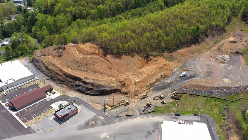 Mountain top removal in Summersville West Virginia harmful to environment