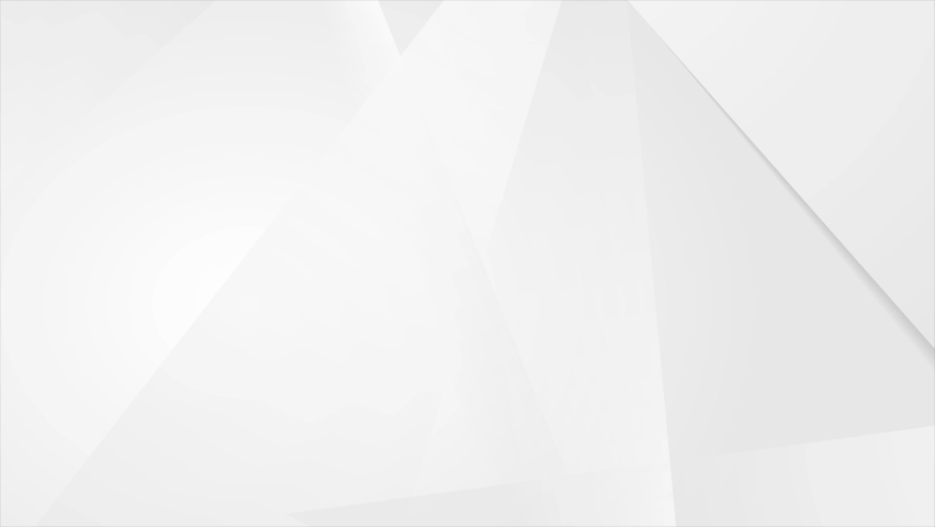 Abstract grey white hi-tech low poly corporate motion background. Seamless looping. Video animation Ultra HD 4K 3840x2160 | Shutterstock HD Video #1074225410