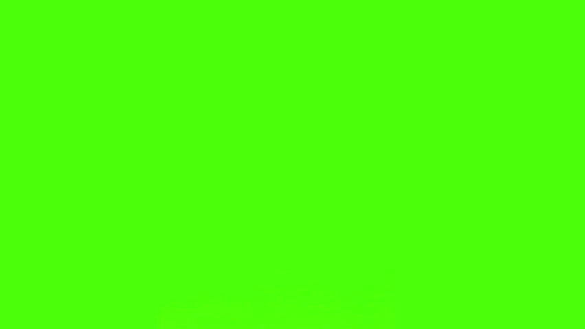 Chromakey footage of a businessman and a businesswoman having a meeting #1074253