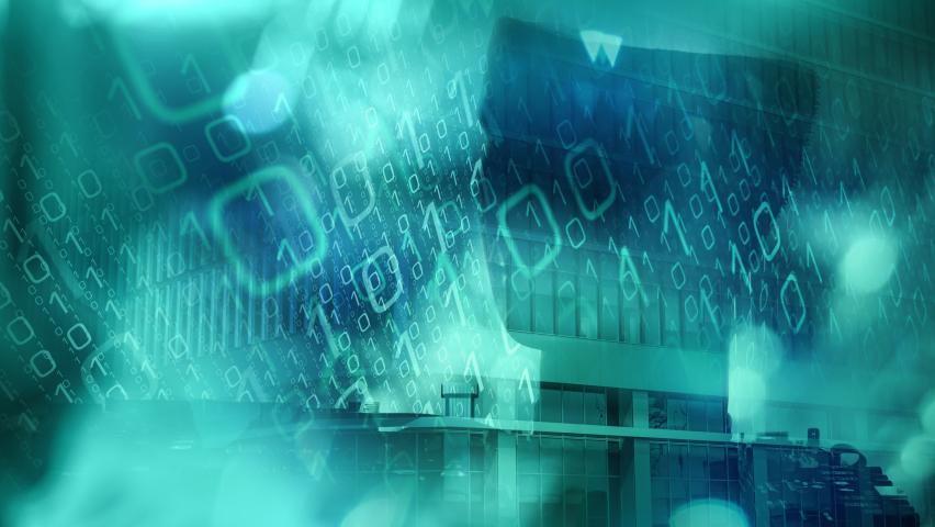 Abstract digital network design, virtual chemistry technology web computer | Shutterstock HD Video #1074718661