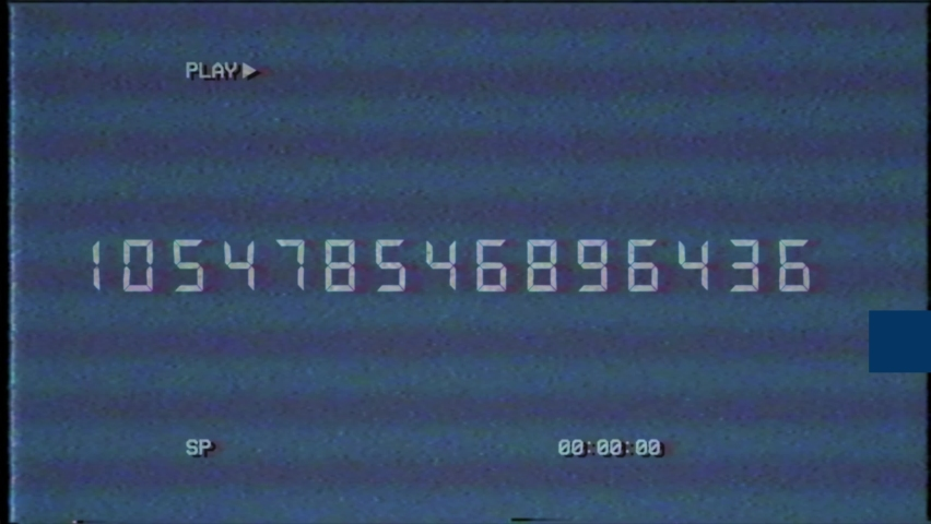 Glitch interference countdown numbers from 10 to 1 new dynamic holiday retro joyful colorful vintage video footage | Shutterstock HD Video #1074719054