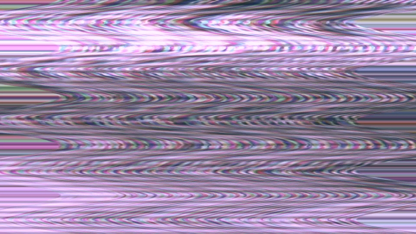 Colored tv picture interference - vhs vintage retro background - disturbed, disturbance, noise, glitches | Shutterstock HD Video #1074719885