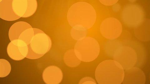 festive orange bokeh abstract background 1