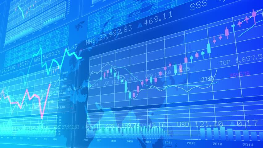 Financial Business Graph. | Shutterstock HD Video #10762346