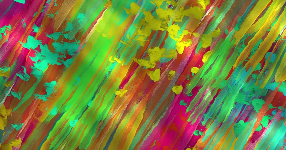 Colorful gradient background. Multicolored gradient blurred texture. Abstract twisted colors.Fractal motion graphic.   Shutterstock HD Video #1076621564