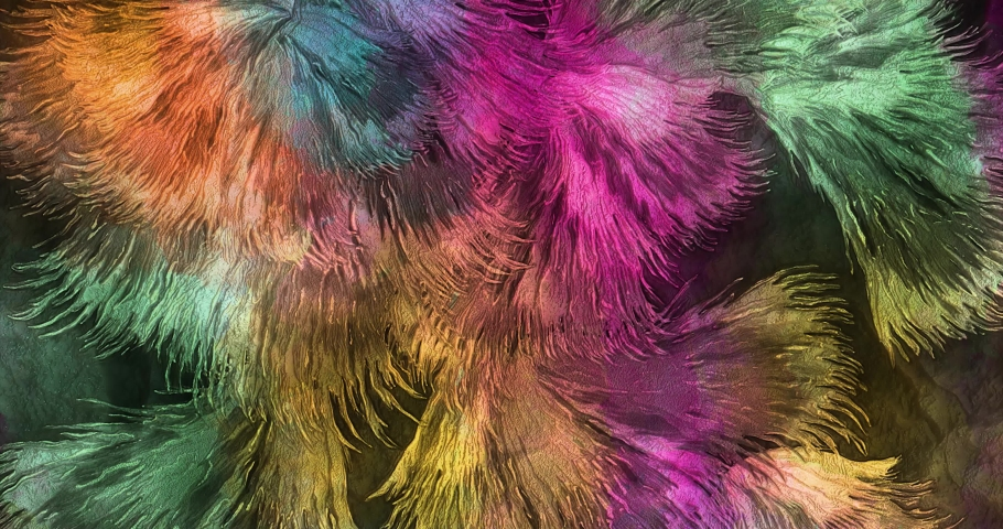 Colorful gradient background. Multicolored gradient blurred texture. Abstract twisted colors.Fractal motion graphic.   Shutterstock HD Video #1076621579