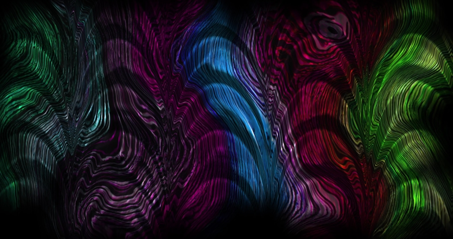 Colorful gradient background. Multicolored gradient blurred texture. Abstract twisted colors.Fractal motion graphic.   Shutterstock HD Video #1076621582