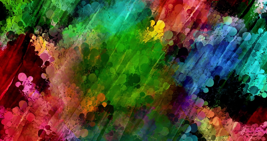 Colorful gradient background. Multicolored gradient blurred texture. Abstract twisted colors.Fractal motion graphic.   Shutterstock HD Video #1076621585