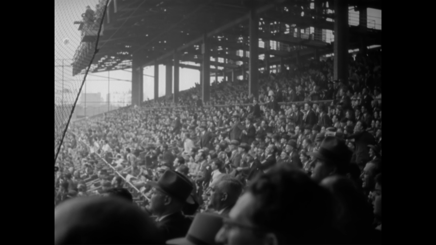 1941 - The Brooklyn Dodgers play the New York Yankees in the World Series.