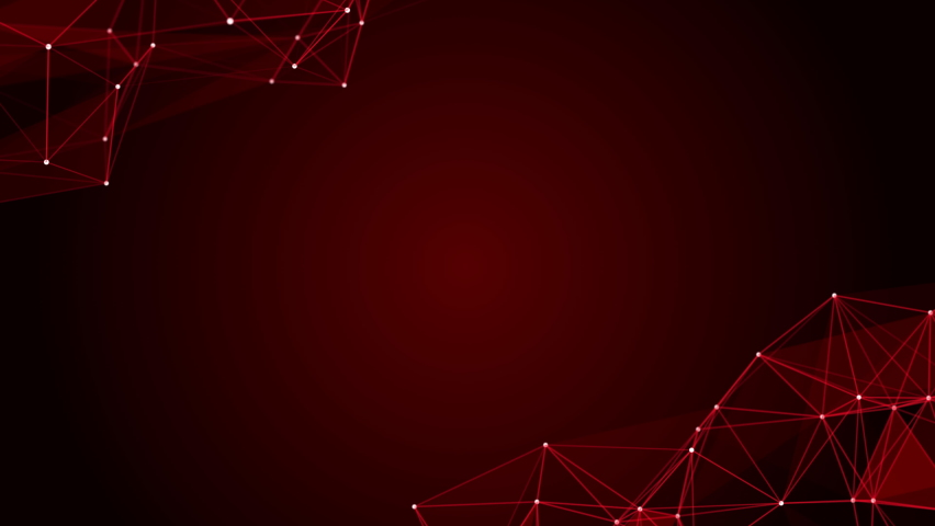 Abstract red polygon background, Technology and futuristic concept, Empty space, 4k Resolution.   Shutterstock HD Video #1076710127