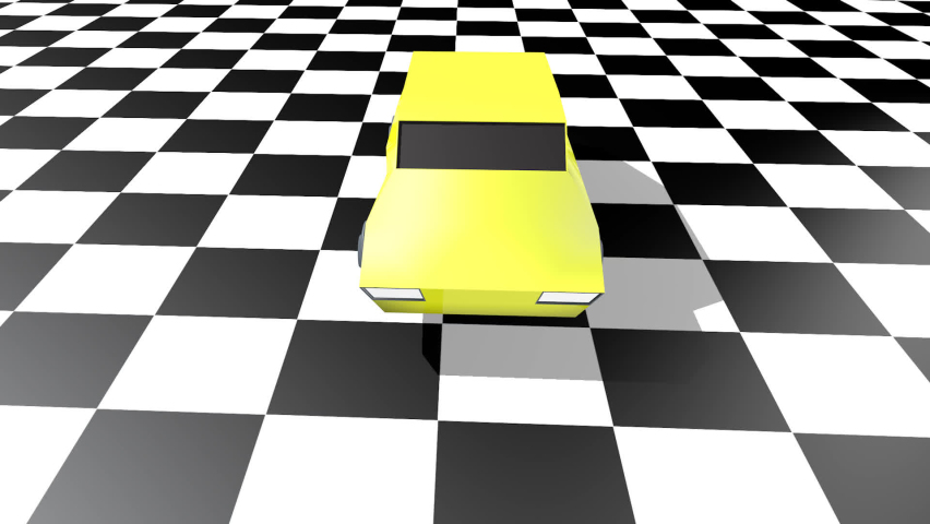 80s toy cars. 3d animation   Shutterstock HD Video #1076742245