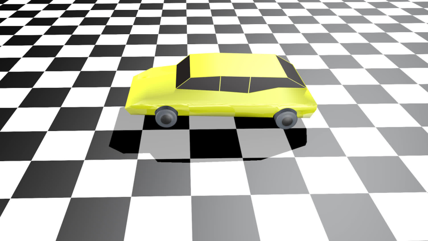 80s toy cars. 3d animation   Shutterstock HD Video #1076742248