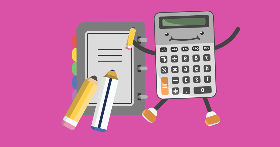 Animation of school items icons moving on pink background. school, education and study concept digitally generated video.   Shutterstock HD Video #1076767259