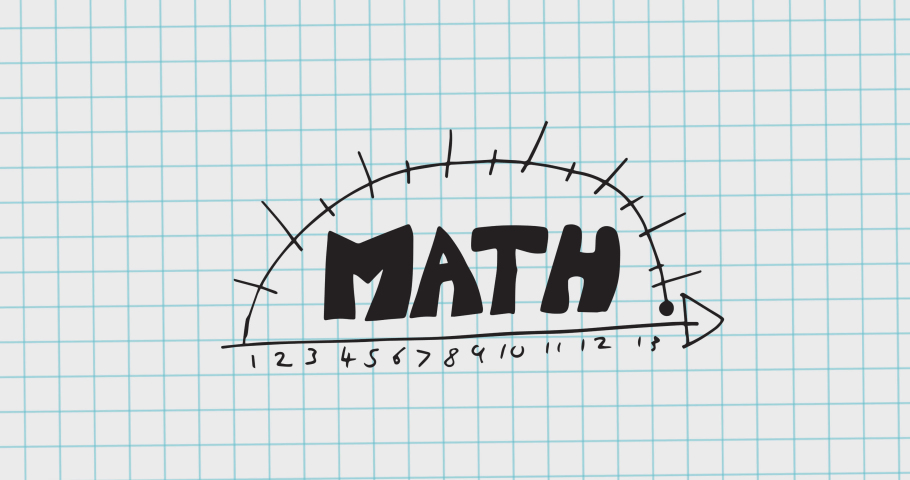 Animation of mathematical equations moving on white background. school, education and study concept digitally generated video.   Shutterstock HD Video #1076768015