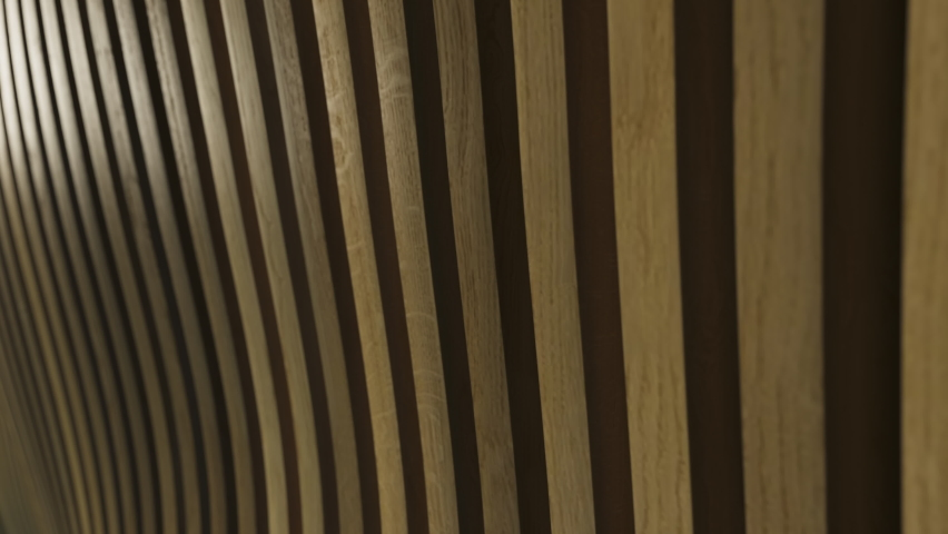 Modern architecture detail, contemporary minimal wood wall pattern,  geometric abstract background interior industrial construction structure | Shutterstock HD Video #1078958171