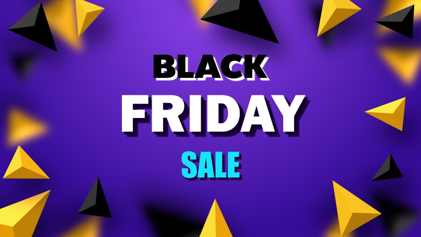 Black friday sale motion graphic text animation on the purple background | Shutterstock HD Video #1080832841