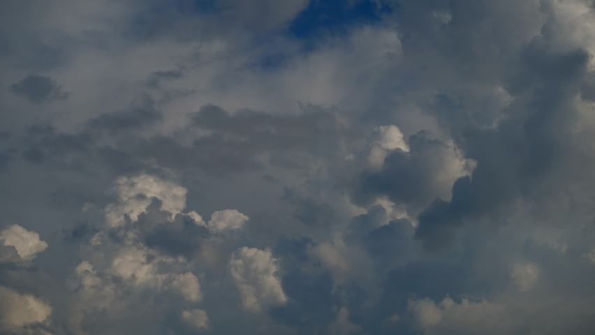White clouds. Blue sky. Puffy fluffy white clouds. Cumulus cloudscape timelapse. Summer blue sky time lapse. Nature weather blue sky. White clouds background. Cloud time lapse nature background  | Shutterstock HD Video #1081264382