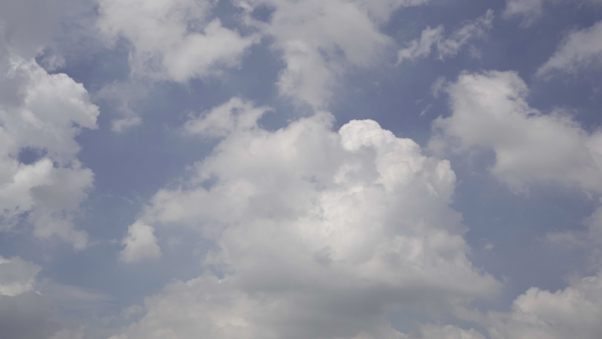 Real time clip of cloudy sky | Shutterstock HD Video #1081276529