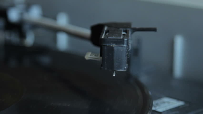 Record vinyl on turntable in vintage color tone   Shutterstock HD Video #10838129